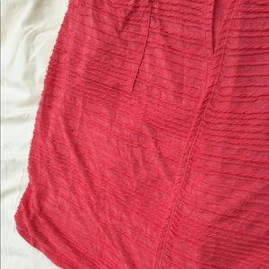 LuLaRoe Jackets & Coats - LuLaRoe Sarah Coral Sweater Ribbed Duster Small